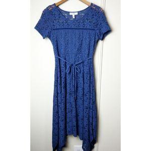 Jessica Simpson Maternity Lace A-line Dress